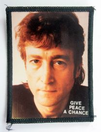 John Lennon - 'Give Peace a Chance' Photo Patch